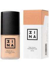 3INA 3-in-1 Foundation 30ml (verschiedene Farbtöne) - 212