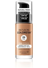 Revlon Colorstay Make-Up Foundation für normale-trockene Haut (Verschiedene Farbtöne) - Natural Tan