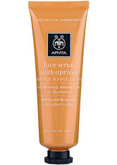 APIVITA Face Scrub for Gentle Exfoliation - Apricot 50ml