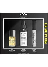 NYX PROFESSIONAL MAKEUP - NYX Professional Makeup Pro Glow Face and Lip Gift Set - MAKEUP SETS