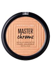 MAYBELLINE - Maybelline Master Chrome Metal Highlighting Powder 100 Molten Gold 8g - HIGHLIGHTER