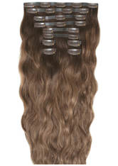 BEAUTY WORKS - Beauty Works 22 Inch Beach Wave Double Hair Extension Set (Various Shades) - Mocha Melt - Extensions & Haarteile