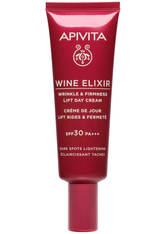 APIVITA Wine Elixir Wrinkle and Firmness Lift Day Cream Dark Spots Lightening SPF30 40ml
