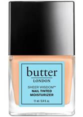 BUTTER LONDON - butter LONDON Sheer Wisdom Nail Tinted Moisturiser 11ml - Light - NAGELLACK