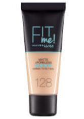 MAYBELLINE - Maybelline Fit Me! Matte and Poreless Foundation 30ml (verschiedene Farbtöne) - 128 Warm Nude - FOUNDATION