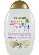 OGX - OGX Damage Remedy+ Coconut Miracle Oil Conditioner 385ml - CONDITIONER & KUR