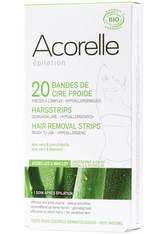 Acorelle Produkte Kaltwachsstreifen - Achsel & Bikinizone 10x2 Stück Enthaarungstools 1.0 pieces