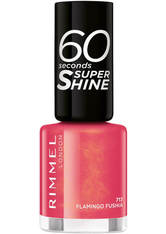 RIMMEL - Rimmel 60 Seconds Super-Shine Nail Polish (Various Shades) - Flamingo Fushia - NAGELLACK