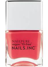 NAILS INC. - NAILSINC Nail Pure Nail Polish 14ml More Self Love Pls - NAGELLACK