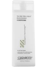 GIOVANNI - Giovanni Tea Tree Triple Treat Conditioner 250ml - CONDITIONER & KUR