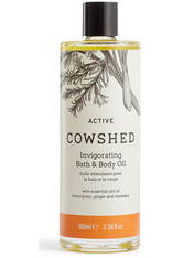 COWSHED - Cowshed ACTIVE Invigorating Bath & Body Oil 100ml - KÖRPERCREME & ÖLE
