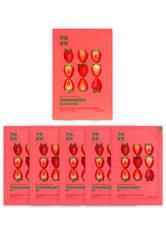 Holika Holika Pure Essence Mask Sheet (5 Masks) 155ml (Various Options) - Strawberry