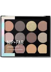 NIP + FAB - NIP + FAB Make Up Eyeshadow Palette – Gentle Glam 12 g - LIDSCHATTEN