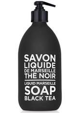 La Compagnie de Provence Black & White Liquid Marseille Soap Black Tea Flüssigseife 500 ml