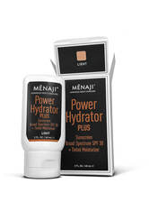 Menaji Power Hydrator PLUS Broad Spectrum Sunscreen SPF30 + Tinted Moisturiser 60ml - Light