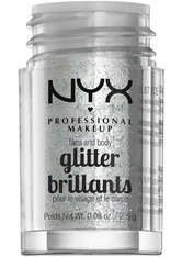 NYX PROFESSIONAL MAKEUP - NYX - Glitter - Face & Body Glitter - 07 Ice - LIDSCHATTEN