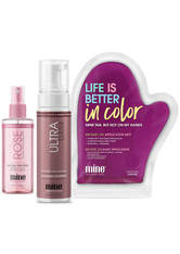 MineTan Get Glowing Face and Body Tanning Trio