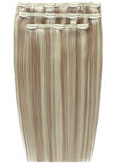 BEAUTY WORKS - Beauty Works Deluxe Clip-In-Hair-Extensions18 Zoll - Champagne Blonde 613/18 - EXTENSIONS & HAARTEILE