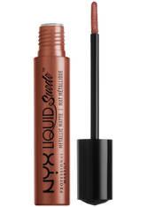 NYX Professional Makeup Liquid Suede Matte Metallic Lipstick (verschiedene Farbtöne) - Mauve Mist