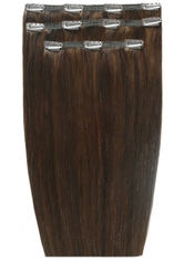 BEAUTY WORKS - Beauty Works Deluxe Clip-In Hair Extensions 18 Inch (Various Shades) - Chocolate 4/6 - Extensions & Haarteile