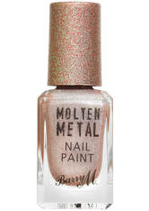 BARRY M - Barry M Cosmetics Molten Metal Nail Paint - Holographic Moon - NAGELLACK