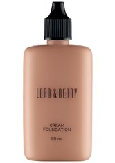 Lord & Berry Cream Foundation 50ml (Various Shades) - Suede