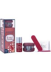 LE MINI MACARON - Le Mini Macaron Gel Manicure Kit - Cassis - Gel & Striplack