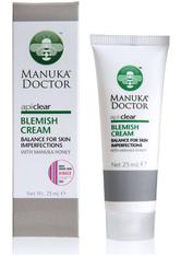 MANUKA DOCTOR - Manuka Doctor ApiClear Skin Blemish Cream 25 ml - TAGESPFLEGE
