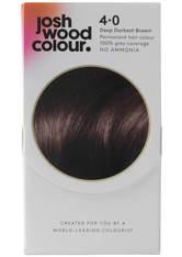JOSH WOOD COLOUR - Josh Wood Colour 4 Deep Dark Brown Colour Kit - HAARFARBE