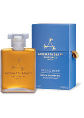 AROMATHERAPY ASSOCIATES - Aromatherapy Associates Relax Deep Relax Bath & Shower Oil (55 ml) - DUSCHEN & BADEN