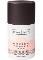 Frank Body Pflege Brightening Vitamin C Mask Gesichtspflege 50.0 ml