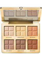 TOO FACED - Too Faced Bronzer Too Faced Bronzer Cocoa Contour Cocoa-Infused Contouring and Highlighting Palette Highlighter 28.5 g - Contouring & Bronzing