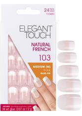 Elegant Touch Artificial Nails French Nails - 103 M Pink Kunstnägel 1.0 pieces