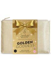 SEOULISTA - Seoulista Beauty Christmas Pouch Gold Glow Instant Facial 'Golden Goddess' Gift Pack - PFLEGESETS