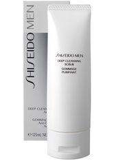 SHISEIDO - Shiseido Mens Deep Cleansing Scrub (125ml) - Peeling