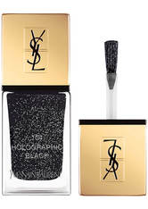 Yves Saint Laurent The Holographics La Laque Couture Nail Varnish 10g - Limited Edition 104 Holographic Black