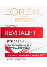 L'ORÉAL PARIS - L'Oreal Paris Dermo Expertise Revitalift Anti-Falten + Straffende Augencreme (15ml) - Tagespflege
