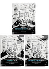 BARBER PRO - BARBER PRO Foaming Cleansing Mask with Activated Charcoal - CREMEMASKEN