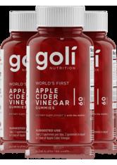 GOLI NUTRITION - Goli 3 Bottles of Apple Cider Vinegar Gummy Bundle - Wohlbefinden