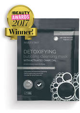 BEAUTYPRO - BeautyPro Detoxifying Foaming Cleansing Sheet Mask with Activated Charcoal - TUCHMASKEN