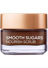 L'Oréal Paris Smooth Sugar Nourish Cocoa Face And Lip Scrub 50ml