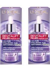 L'ORÉAL PARIS - L'Oréal Paris Exclusive Revitalift Filler with 1.5% Hyaluronic Acid Anti-Wrinkle Dropper Serum Duo 2 x 30ml - Serum