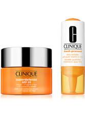 Clinique Produkte Fresh Presses Daily Booster with Vitamin C 10% + Superdefense Cream SPF 25 15ml 1 Stk. Anti-Aging-Maske 1.0 st