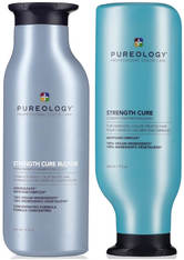 PUREOLOGY - Pureology Strength Cure Blonde Shampoo and Conditioner Duo 2 x 266ml - HAARPFLEGESETS