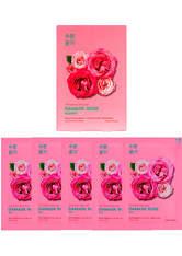 Holika Holika Pure Essence Mask Sheet (5 Masks) 155ml (Various Options) - Damask Rose