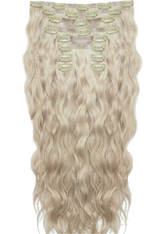 BEAUTY WORKS - Beauty Works 22 Inch Beach Wave Double Hair Extension Set (Various Shades) - Champagne Blonde - Extensions & Haarteile