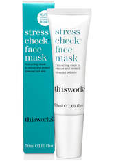 This Works - Stress Check Face Mask, 50 Ml – Gesichtsmaske - one size