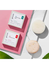 Grüum Shampoo Bars hår Plastikfreies festes Shampoo - Strahlkraft Haarshampoo 50.0 g