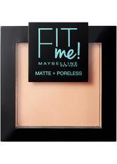 Maybelline Fit Me Matte & Poreless Powder (verschiedene Farbtöne) - 128 Warm Nude