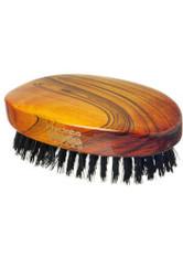 HYDREA LONDON - Hydrea London Military Hairbrush Gloss Finish with Pure Black Boar Bristle (Hard Strength) FSC Certified - Haarbürsten, Kämme & Scheren